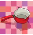 Kitchen kettle vector image