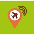 location gps travel vector image