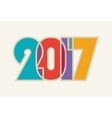 HAPPY NEW YEAR Cheerful and beautiful vector image