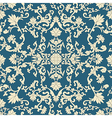 Seamless pattern oriental vector image