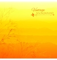 Abstract yellow gradient background vector image vector image