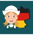 German culture design vector image