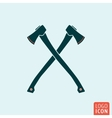 Axe icon isolated vector image