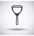 Vegetable peeler icon vector image