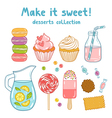 Make it sweet vector image vector image