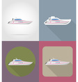transport flat icons 63 vector image