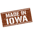 made in iowa stamp vector image