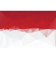 Indonesian flag vector image