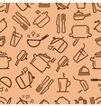 kitchenware seamless vector image