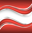 Beautiful red background vector image