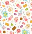 Make it sweet seamless pattern vector image