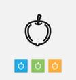 of kitchenware symbol on plum vector image