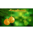Marry Christmas background vector image