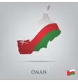 country oman vector image