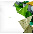 Futuristic shapes abstract background vector image vector image