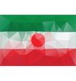 Iranian flag vector image