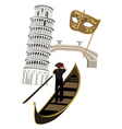 italy graphics vector image