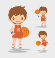 Cartoon of Basketball Player vector image