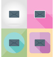 service flat icons 06 vector image