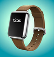 Smart Watch Concept Realistic vector image vector image