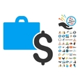 Accounting Icon With 2017 Year Bonus Pictograms vector image