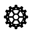 Gear icon Machine part design graphic vector image