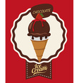 Chcolate design vector image