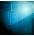 Dark blue technical background vector image vector image