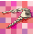 Garlic press vector image