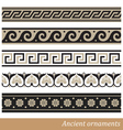 Old greek ornament vector image