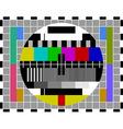 pal tv test signal vector image