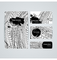 Set of design templates Brochures in vector image