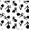 pole dance stripper shoes exotic girls vector image