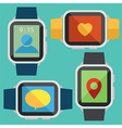 Smart Watch vector image vector image