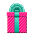 gift box 06 vector image vector image