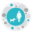 relatives symbol on woman vector image