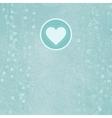 Retro Valentines Card Background vector image