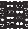 Seamless pattern with sunglasses fashion vector image
