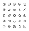 User Interface Colored Line Icons 53 vector image