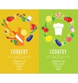 Cooking collection compositsion vector image