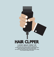 Hair Clipper Tool Of Hairdresser vector image