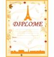 Karaoke certificate template best singer vector image vector image