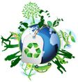 global eco vector image