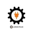 Energy industry logo vector image