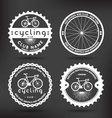 Cycling Badges vector image