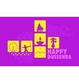 Happy Dussehra vector image vector image
