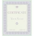 Certificate pattern diplomas vector image vector image