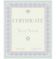 Certificate pattern diplomas vector image