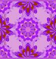 flat flower elements design children style vector image