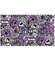 seamless fabric floral pattern vector image